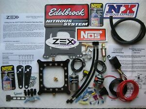 Total Blackout New Hbr zex Holley 4150 Perimeter Pro Nitrous Plate Kit 50 250hp