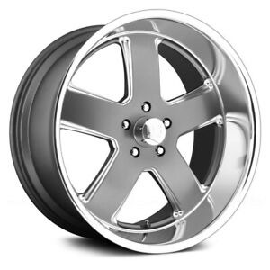 4 Set New Us Mags Wheels Hustler U118 20x8 5x127 1 Gunmetal