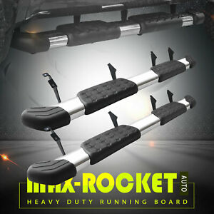 For 2007 2021 Toyota Tundra Crew Max Stainless Side Step Running Board Oe Bar