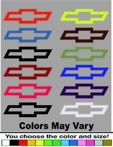 Chevy Bowtie Decal Buy 1 Get 2 Free Chevrolet Car Truck Iphone Free Shipping