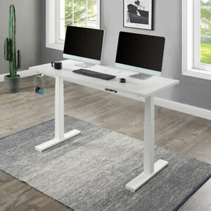 Electric Standing Desk Height Adjustable Computer Desk Table For Healthy Working