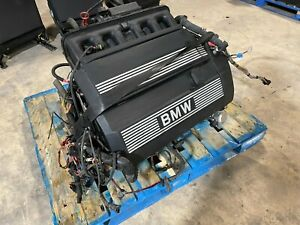 Engine Motor M52 2 5l Bmw Z3 E36 Roadster 46k Oem Low Miles