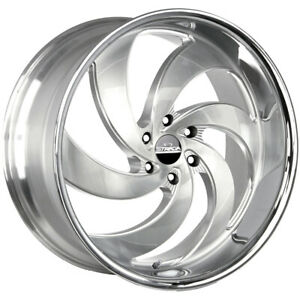 4 Strada C06 Retro 6 26x10 6x135 26mm Brushed Ssl Wheels Rims 26 Inch