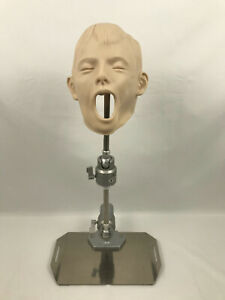 Kilgore Nissin Dental Training Manikin Shroud Head With Adjustable Mount Child