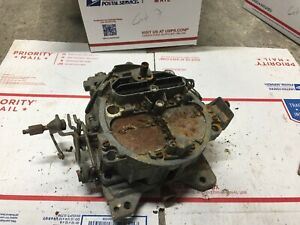Quadrajet Carburetor Carb Made In Usa 4 Barrel 17058229 068 Bjn Chevrolet 1978