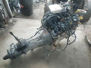 Gm 5 3 Ls Vortec Engine 5speed4x4 Manual Transmission Complete Takeout Jeep Swap