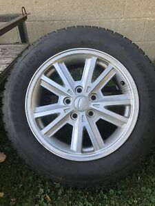 2007 Mustang 4 215 60 R16 Bfgoodrich Winterstorm Winter Tire s And Mustang Rims
