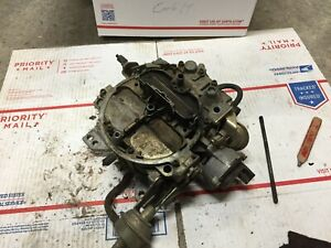Quadrajet Carburetor Carb Made In Usa 4 Barrel 17082222 562 Fjn 1982 Chevrolet