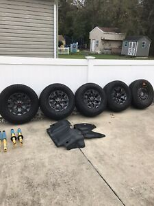 Toyota Tacoma Trd Off Road 3rd Gen Oem Wheels Tires And Shocks