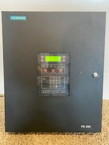 Siemens Fs 250 Fire Alarm Control Panel used