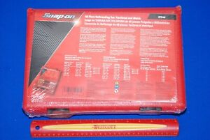 New Sealed Snap on Tools 48 Piece Master Rethreading Tap And Die Set Rtd48