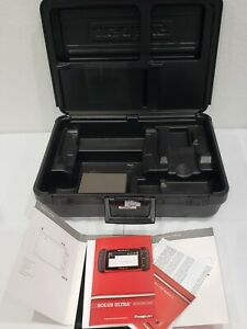 Snap on Solus Ultra Storage Carrying Case Tool Scanner Hard Plastic W Manual
