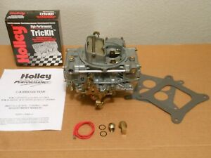 Rebuilt Hp Holley 80457 2 600cfm Perf Universal Chevy Ford 302 327 350 351 Ss Gt