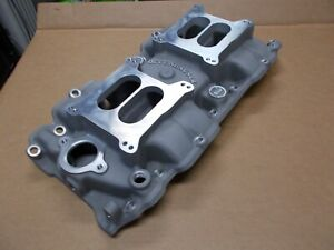 Offy Offenhauser Big Block Chevy Dual Quad Intake Manifold