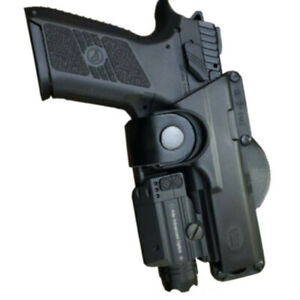 Polymer Right Owb Holster fit Glock CZ P07 P09 P10F P10C SP01 with laser light $24.99