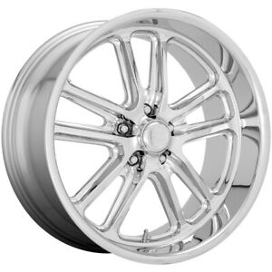 Staggered Us Mags U131 Bullet 20x8 20x9 5 5x5 1mm Chrome Wheels Rims