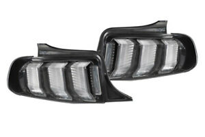 2010 2011 2012 Mustang Morimoto Xb Smoked Euro Tail Lights Pair In Stock New