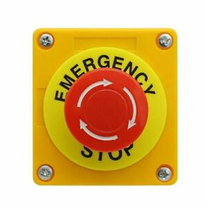 Nxtop Push Button Station 660v 10a 2 Position 1no 1nc Momentary Emergency Stop