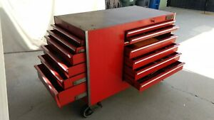 Snap On Tool Box Roll Cab Kr562 Plus Some Tools