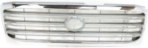 Chrome Grill Assembly For 2003 2005 Toyota Land Cruiser Grille To1200252