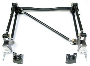 New Ridetech Bolt On 4 Link Rear Suspension System 55 57 Chevy Tri 5 2 Pc Frame