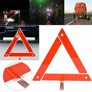 Red Warning Safety Triangle Emergency Reflective Sign Foldable Car Breakdown