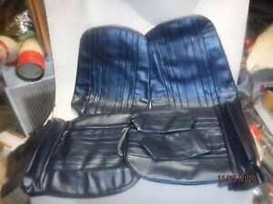 1969 Chevelle El Camino New Front Bucket Seat Covers W Headrests 69 Malibu Ss