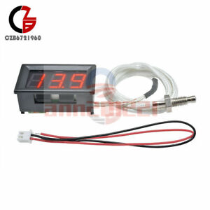 Xh b310 Red Digital Diaplay Thermometer K type M6 Thermocouple Tester 30 c 800 c