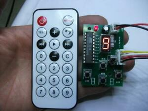 Stepper Motor Driver 2 phase 4 wire Controller Speed Adjustable With Remote
