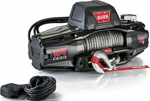 Warn 103253 Vr Evo Series Winch 10 000lb With Synthetic Rope 103253 Jeep 4x4