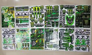 12x Rockstar Energy Yoshimura Metal Mulisha Racing Stickers Ktm Motorcross Bike