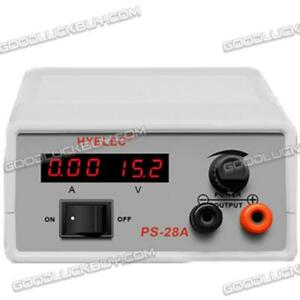 Dc Power Supply 1 15v At 2a With Led Display