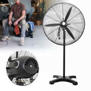 Electric 30 Floor Stand up Pedestal Fan Commercial Industrial Stainless Steel