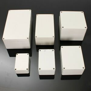 Abs Plastic Electronic Project Box Junction Enclosure Case Waterproof Screw Us