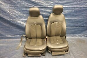 2011 Cadillac Cts v Coupe 6 2l Lt4 Oem Leather suede Front Seats wear 1267