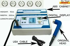 Professional Ust 101 Chiropractic Physiotherapy Ultrasound Therapy 1mhz Machine