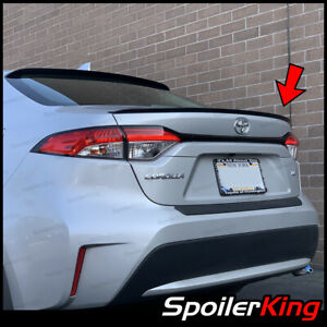 Rear Trunk Lip Spoiler fits Toyota Corolla 2020 on Spoilerking 244l