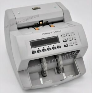 Cummins Jetscan Currency Money Counter Model 4062 fully Reconditioned warranty