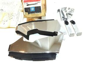 Nos 1976 1978 Chevy Luv Pickup Truck Front Bumper Guards Accessory Kit