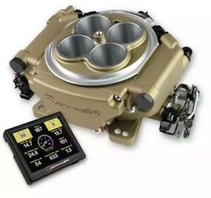 Holley 550 520 Super Sniper Efi 650 Hp Efi Conversion Kit Gold Turbo Blower