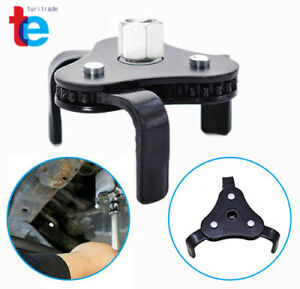 1 2 3 8 Drive Oil Filter Wrench Auto Adjustable Universal 3 Jaw Remover Socket