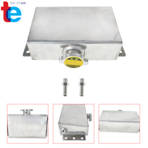 1l Aluminum Radiator Coolant Overflow Bottle Expansion Reservoir Tank Universal