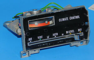 1974 1975 1976 Cadillac Oem Automatic Climate Control Unit Switch
