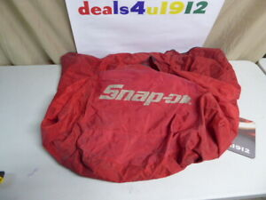Snap On Ac Machine Or Other Red Canvas Cordura Cover Very Good Pre Owned Cond