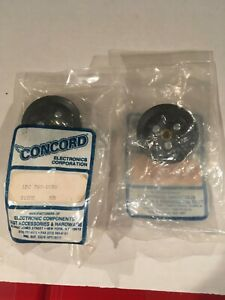 Concord Electronic Components Lot Of 2 Knobs 790 1030