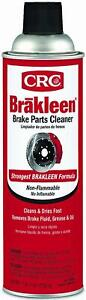 Crc Brakleen Brake Parts Cleaner Non Flammable 19 Wt Oz 05089