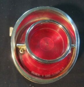 Vintage Oem 64 Chevy Tail Light W Mounting Bracket Excellent Condition