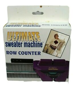 New Ultimate Sweater Machine Row Counter