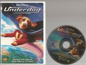 Underdog DVD 2007 Peter Dinklage Amy Adams Jason Lee Disc amp; Cover Art Only $3.99
