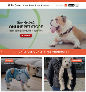 Profitable Pet Store Turnkey Dropship Website Business For Sale